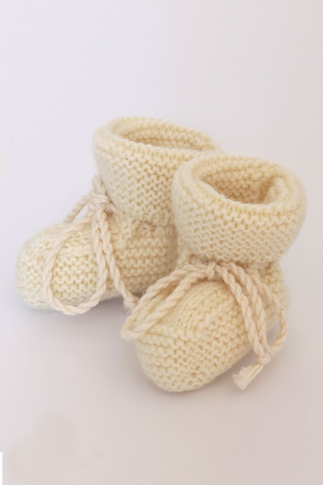 check out 43a47 fe105 scarpine in lana merinos bianco naturale